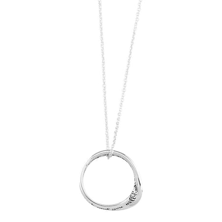 MOBIUS NECKLACE - ASK SEEK KNOCK