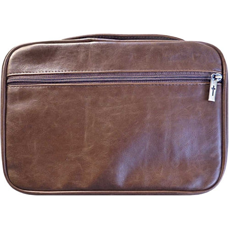 BIBLE CASE - BROWN XXL DISTRESSED LEATHER