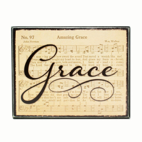 BOX SIGN - GRACE