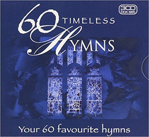 60 TIMELESS HYMNS 3CDS