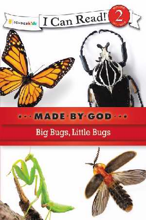 I CAN READ - MADE BY GOD - BIG BUGS, LITTLE BUGS