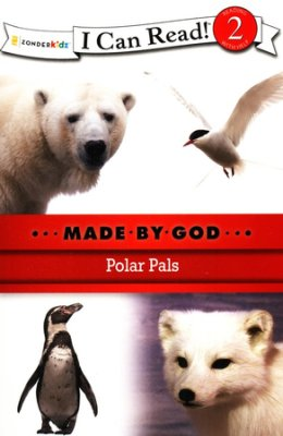 I CAN READ - MADE BY GOD -  POLAR PALS