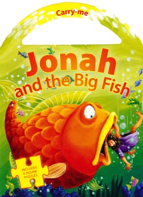 CARRY ME PUZZLE - JONAH AND THE BIG FISH