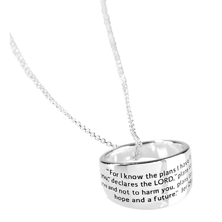 JER. 29:11 - NECKLACE