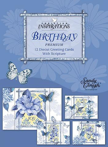 BOXED CARDS - BIRTHDAY - INDIGO GARDEN