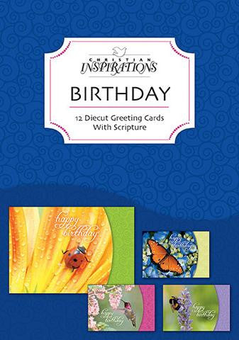BOXED CARDS - BIRTHDAY - NATURE'S FRIENDS