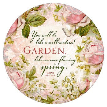 COASTER REVERSIBLE - PRAY/GARDEN
