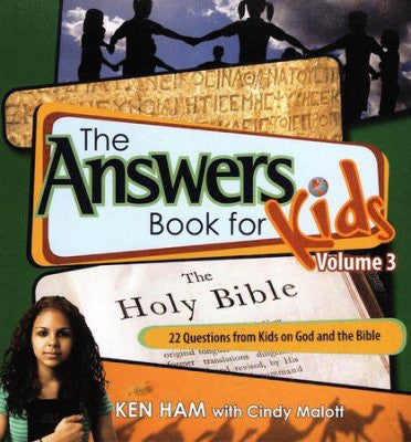 ANSWERS BOOK FOR KIDS #3