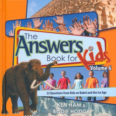 ANSWERS BOOK FOR KIDS #6