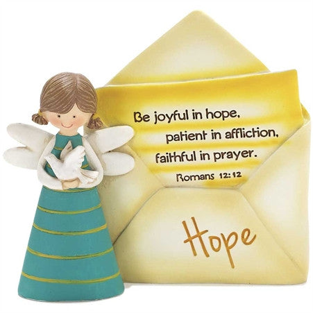 RESIN ANGEL - HOPE ENVELOPE