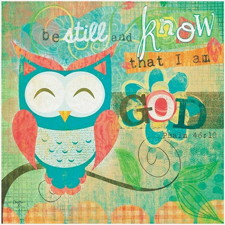 PLOK - BE STILL & KNOW 12 X 12