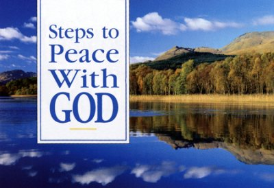 TRACT - STEPS TO PEACE WITH GOD PK/25 SCENIC