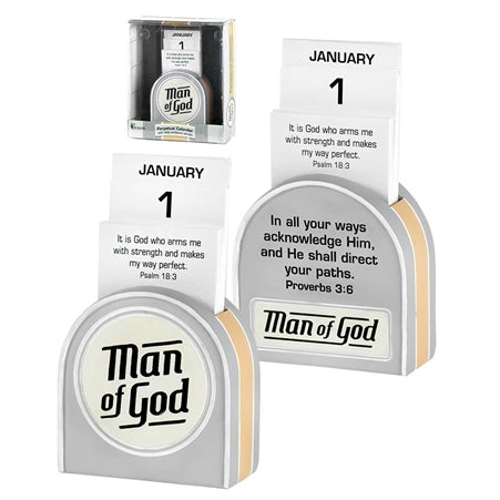 PERPETUAL CALENDAR - MAN OF GOD