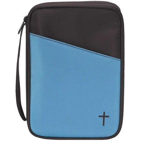 BIBLE CASE - THINLINE CHOC/TEAL