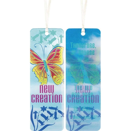 BOOKMARK - 3D NEW CREATION
