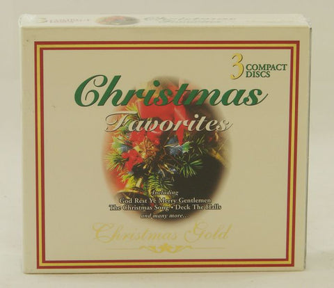 3CD CHRISTMAS FAVORITES CHRISTMAS GOLD-CHRISTMAS