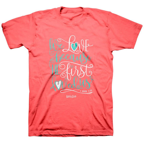 TSHIRT - WE LOVE - XL