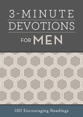 3 MINUTE DEVOTIONS MEN