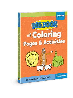 BIG BOOK OF BIBLE COLOURING PAGES & ACTIVITIES