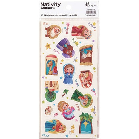 STICKER - CHRISTMAS - NATIVITY