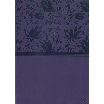 NKJV - LP COMPACT REF PURPLE LEATHERTOUCH