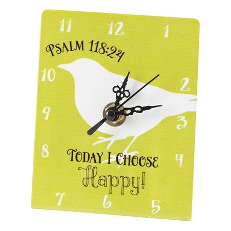 CLOCK - TTOP TODAY I CHOOSE HAPPY