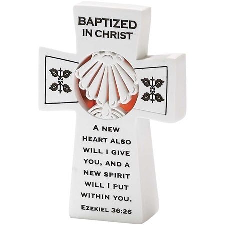 RESIN TBLTP - BAPTIZED LIGHTED