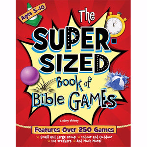 SUPER SIZED BOOK OF BIBLE GAMES