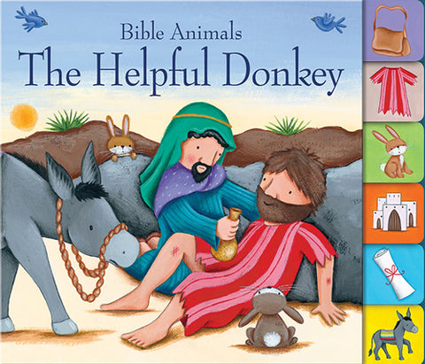 BIBLE ANIMALS - HELPFUL DONKEY