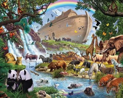 JIGSAW PUZZLE - NOAH'S ARK -1000PC