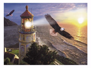 JIGSAW PUZZLE - EAGLE LIGHT - 1000PC