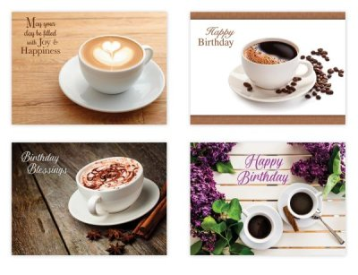 BOXED CARDS - BD - COFFEE TIME