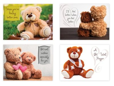 BOXED CARDS - GW - TEDDY BEARS