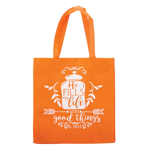 TOTE BAG - HE FILLS LIFE