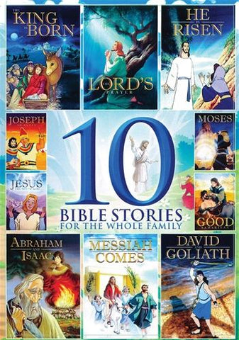 10 BIBLE STORIES DVD