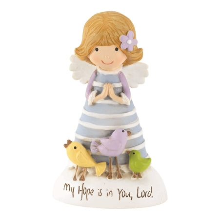 RESIN ANGEL - MY HOPE IS IN YOU LORD - 2.5""