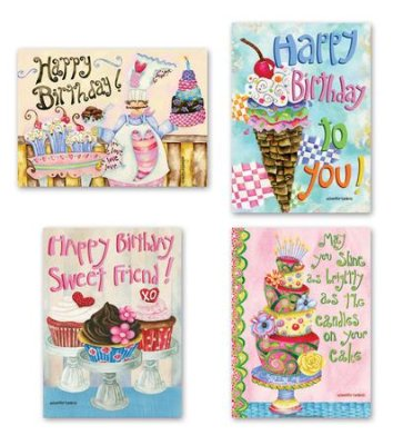 BOXED CARDS - BD - SWEETS