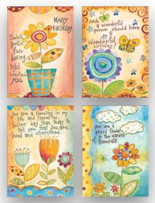 BOXED CARDS - BD - PAINTING