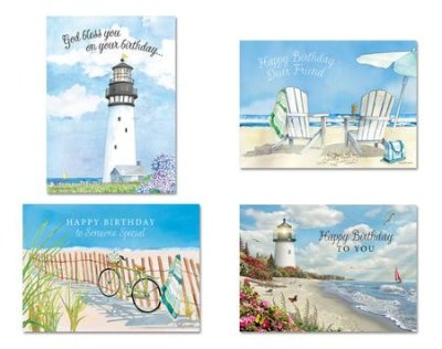 BOXED CARDS - BD - COASTAL