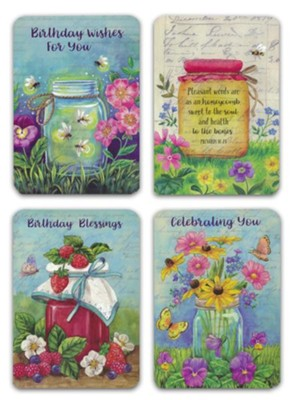 BOXED CARDS - BIRTHDAY - JOYFUL BLESSINGS