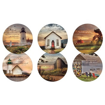 COASTER SET - GUIDING LIGHT COLLECTION