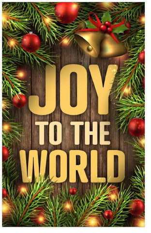TRACT - CHRISTMAS - JOY TO THE WORLD