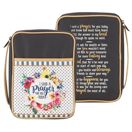 BIBLE CASE - I SAID A PRAYER CNVS LG