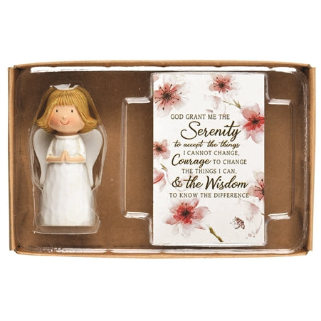 ANGEL PRAY/CARD - SERENITY PRAYER