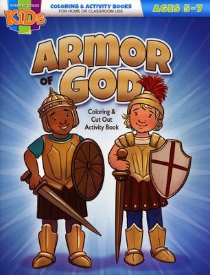 ARMOR OF GOD COLOURING BOOK