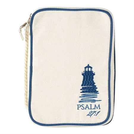 BIBLE CASE - CANVAS - PS 27:1 LG