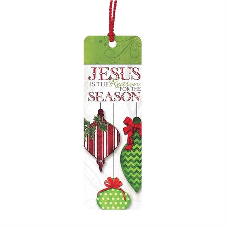CHRISTMAS BOOKMARK - JESUS IS THE REASON OLD