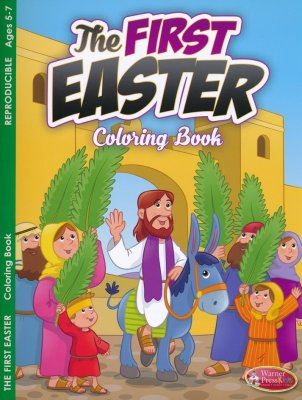 FIRST EASTER COLOURING BOOK