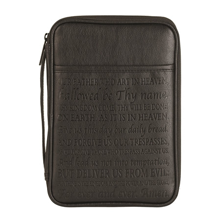 BIBLE CASE - LORD'S PRAYER BLK LP