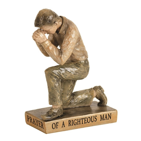 FIGURE PRAYING - MAN